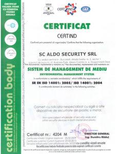 ISO 14001 certificati