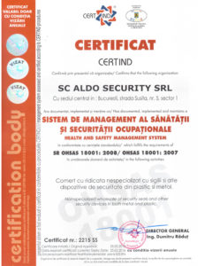 zertifikate ISO 18001