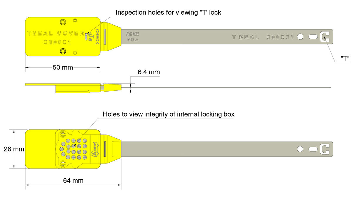 T-Seal specifications