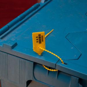 sigillo di sicurezza, sigillo di sicurezza in plastica