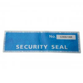 Secure labels – dual layer