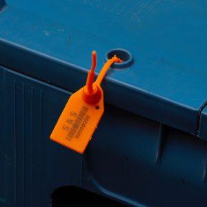 Пластмасови пломбиза сигурност