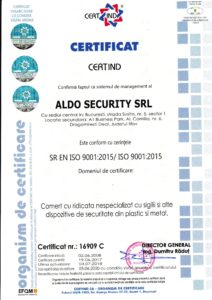 ISO 9001 Aldo Security
